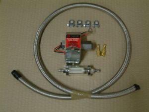 Facet electronic fuel pump with pipe, filter and fittings, kit deal